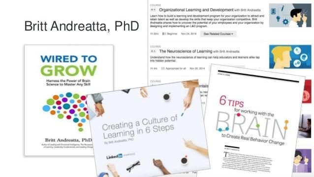 Britt Andreatta, PhD 5
