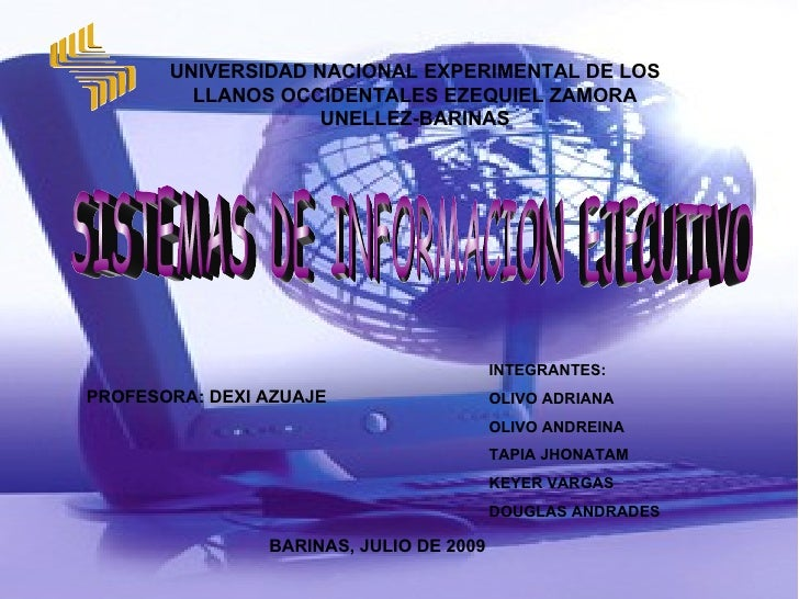 UNIVERSIDAD NACIONAL EXPERIMENTAL DE LOS          LLANOS OCCIDENTALES EZEQUIEL ZAMORA                     UNELLEZ-BARINAS ...