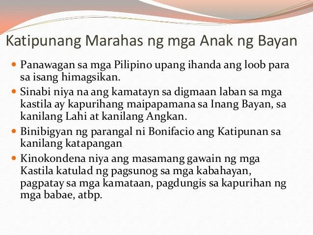 """tula ni andres bonifacio Kasalanan ni cain,  bonifacio at jacinto  2007 tula salamat sa akdang """"liwanag at dilim"""" ni emilio jacinto ni gregorio v bituin jr."""