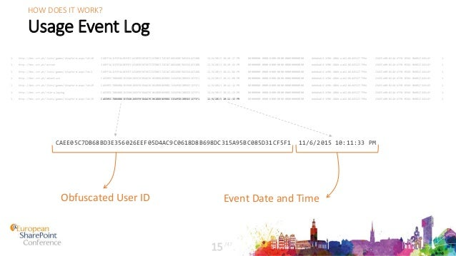 Usage Event Log 1 http://dev.crt.pt/lists/games/dispform.aspx?id=19 368FF3A1C93F4A0E93FCA31050E074E72EFD0E372E1D7A0226BE9A...