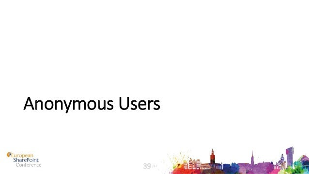 Anonymous Users /4739