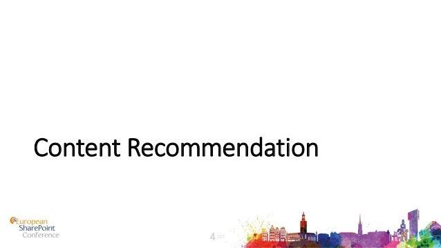 Content Recommendation /474