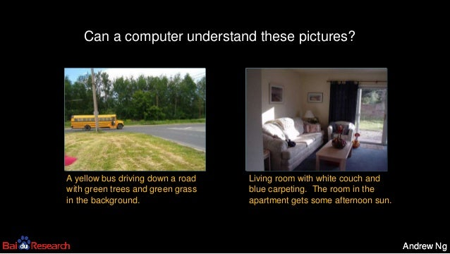 Andrew NgAndrew Ng A yellow bus driving down a road with green trees and green grass in the background. Living room with w...