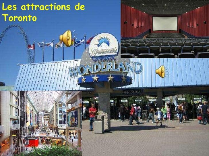 Les attractions de Toronto<br />