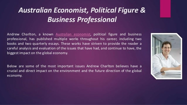 Andrew charlton quarterly essay review