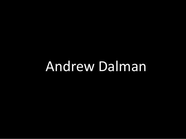 Andrew Dalman