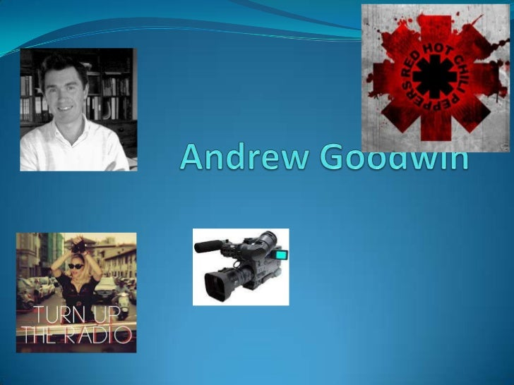 Andrew Goodwin Visuals can; Illustrate Amplify OR Contradict The  lyrics and music. Genres tend to have their own And ex...