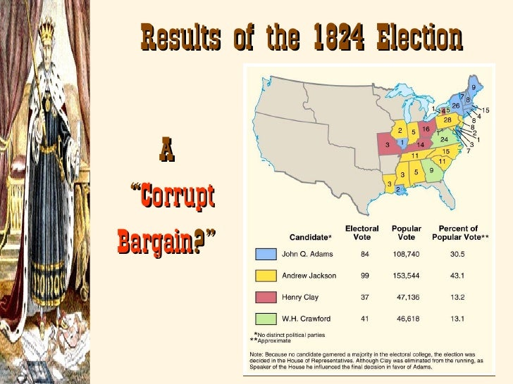 corrupt bargain election