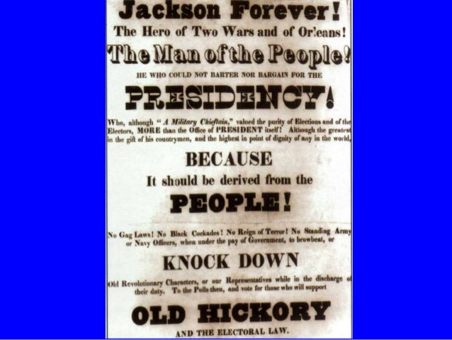 andrew jackson the representative of the common men Andrew jackson, the seventh us president (1829-1837), began life on march 15,   as tennessee's delegate to the united states house of representatives  he  responded by claiming he was replacing aristocrats with the common man.