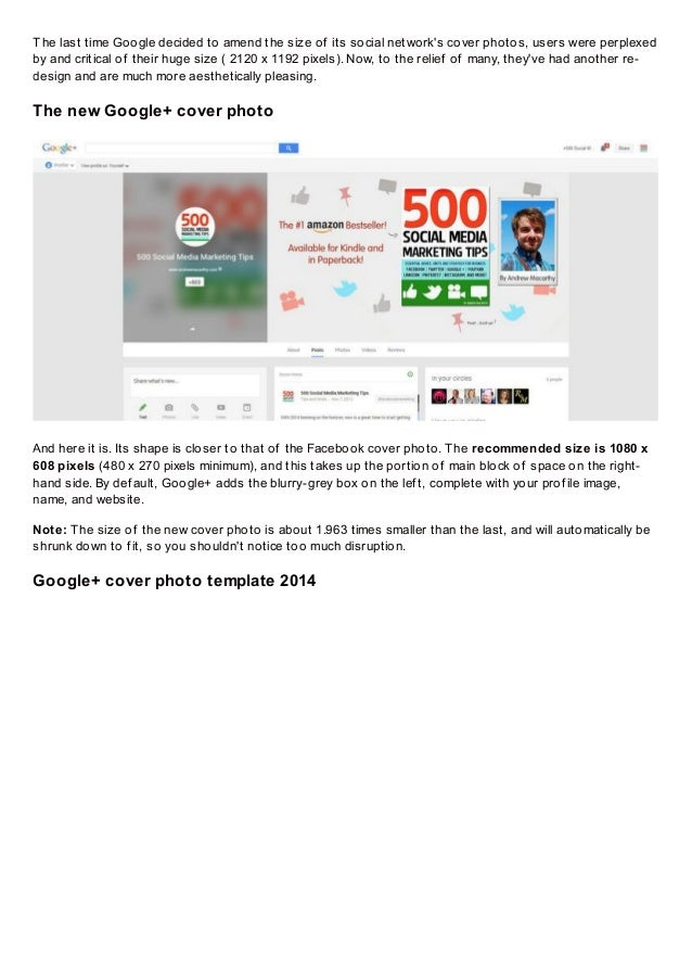 Google plus cover photo dimensions size 2014 and template the old google cover photo 2 maxwellsz