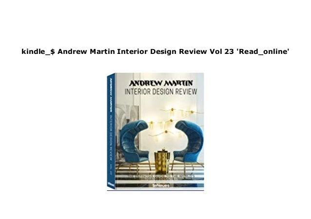 E Book Harcover Library Andrew Martin Interior Design Review Vol 23