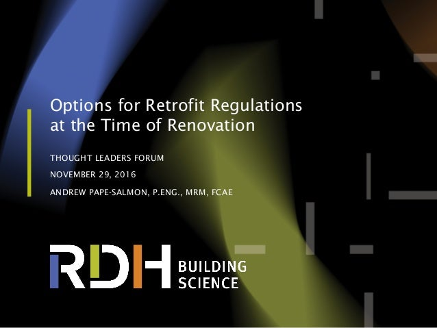 Options regulation