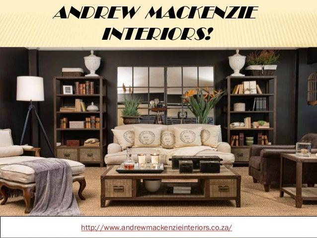 South African Interior Decorators Andrew Mackenzie