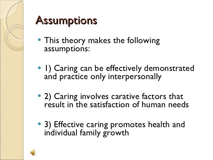 the watson theory Start studying orem's self-care theory & watson's theory of caring learn vocabulary, terms, and more with flashcards, games, and other study tools.
