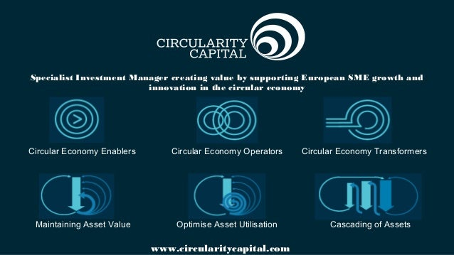 Specialist Investment Manager creating value by supporting European SME growth and innovation in the circular economy www....