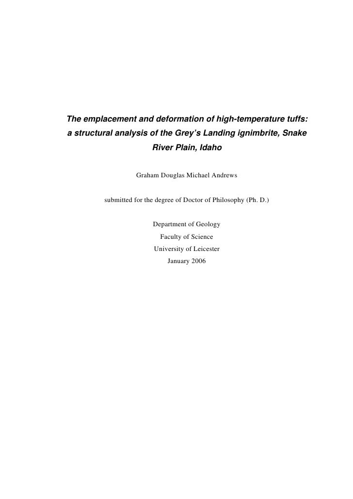 Andrews Ph D Thesis
