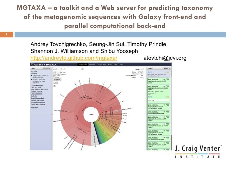 MGTAXA – a toolkit and a Web server for predicting taxonomy     of the metagenomic sequences with Galaxy front-end and    ...