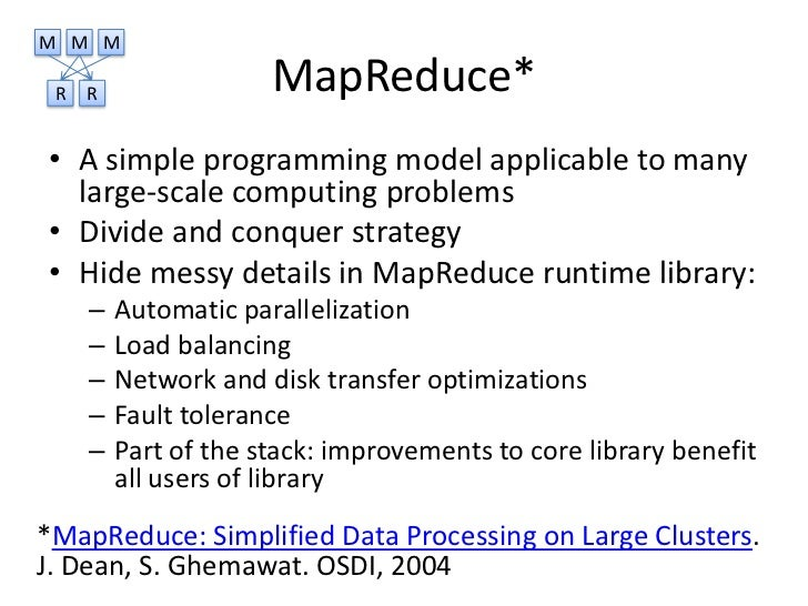 Cloud Infrastructure Google File System And Mapreduce Andrii Vozni