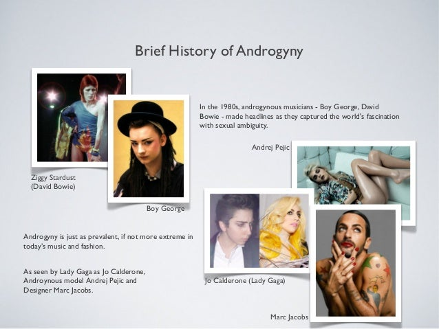 From George and Lennox to Gaga and Lambert: Androgyny ...