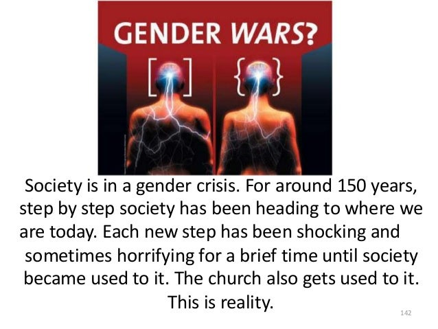 Society is in a gender crisis. For around 150 years, step by step society has been heading to where we are today. Each new...