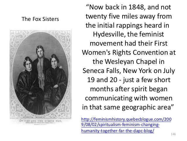 """The Fox Sisters  """"Now back in 1848, and not twenty five miles away from the initial rappings heard in Hydesville, the femi..."""