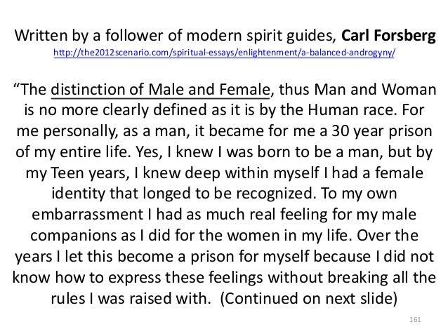 Written by a follower of modern spirit guides, Carl Forsberg http://the2012scenario.com/spiritual-essays/enlightenment/a-b...