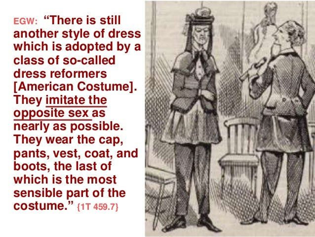 """""""There is still another style of dress which is adopted by a class of so-called dress reformers [American Costume]. They i..."""
