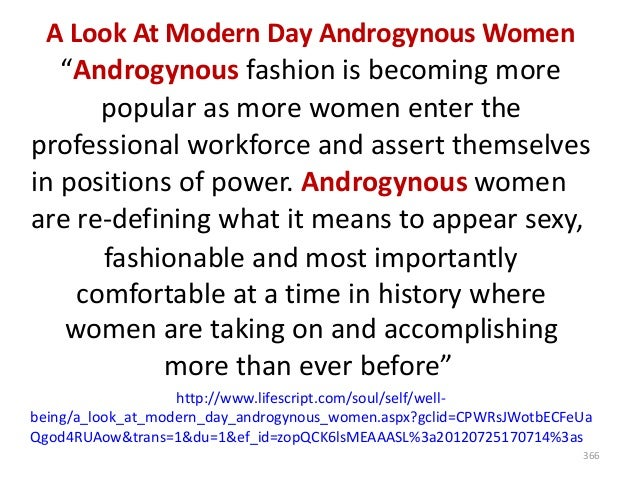 """""""Androgynous fashion blurs traditional rules of style"""" Bo Breda says: """"While women began adopting menswear into their ward..."""
