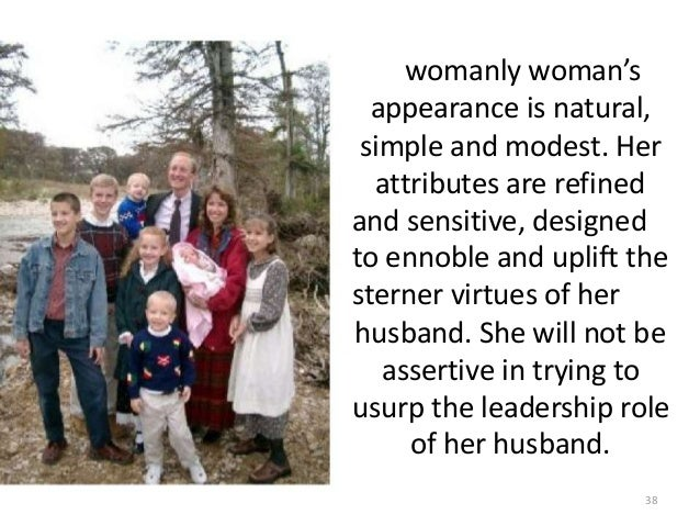 womanly woman's appearance is natural, simple and modest. Her attributes are refined and sensitive, designed to ennoble an...