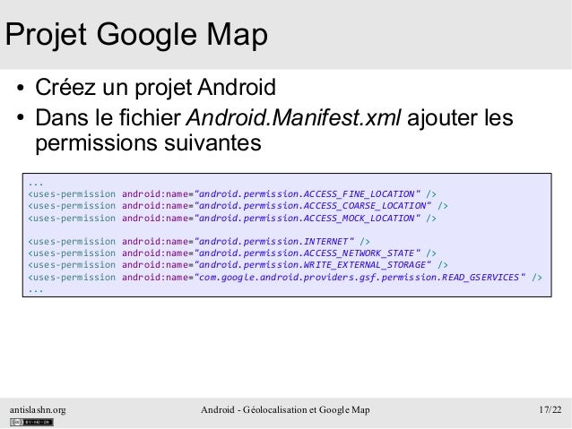 Développement Android