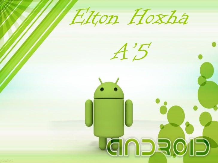 Elton Hoxha    A'5