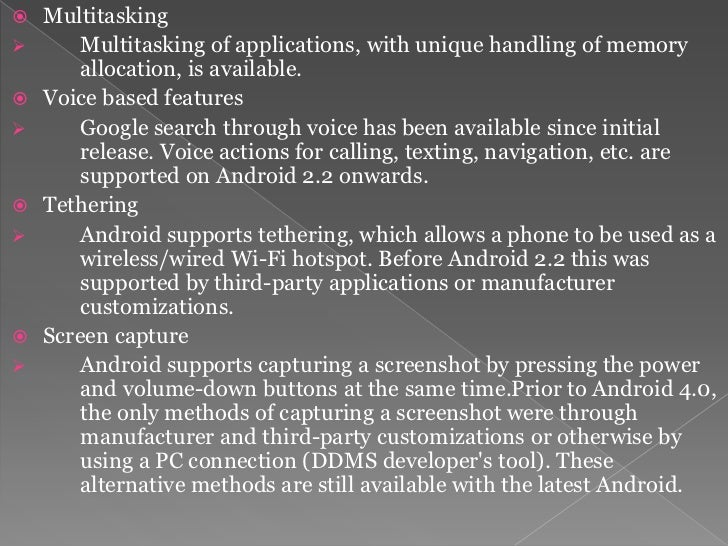  External storage    Most Android devices include microSD slot and can read     microSD cards formatted with FAT32, Ext3...