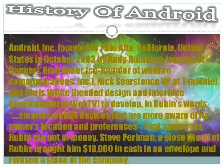 Android Slide 2