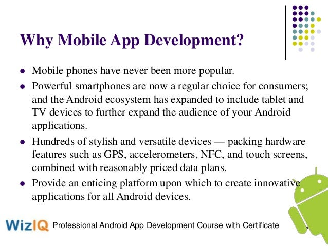 Learn Android Course and Professional Mobile Application Development …