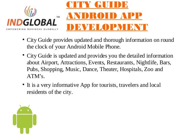 Android Appliation development bangalore