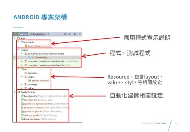 Android 基礎開發課程