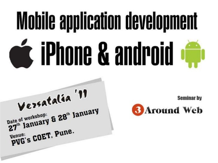 Android application developement seminar