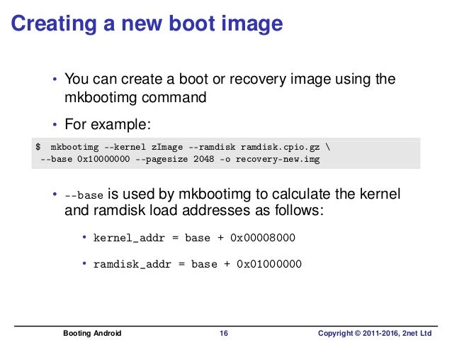 Booting Android: bootloaders, fastboot and boot images