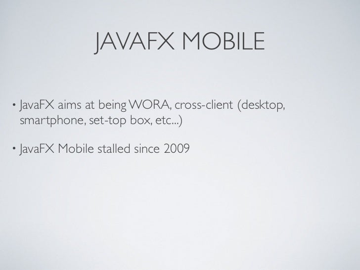 Android java fx-jme@jug-lugano