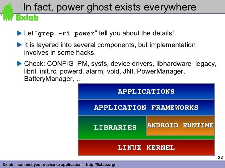 """In fact, power ghost exists everywhere             Let """"grep -ri power"""" tell you about the details!            It is layer..."""