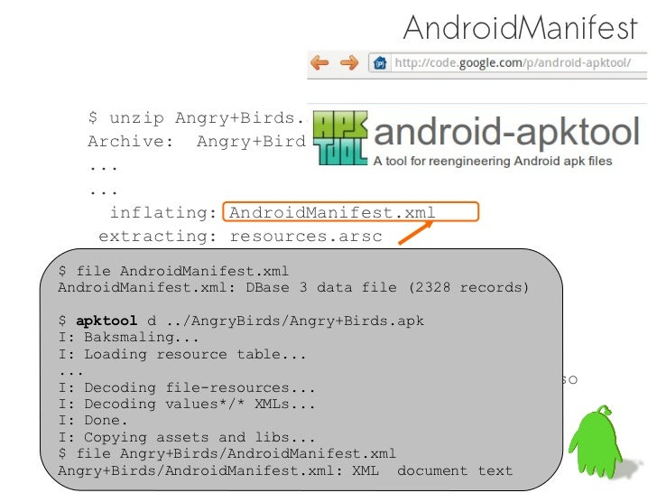 Practice of Android Reverse Engineering