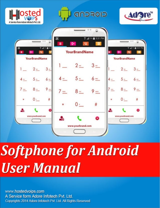hosted android user manual rh slideshare net Android Logo Android Telephones