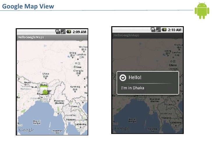 Android MapView and MapActivity