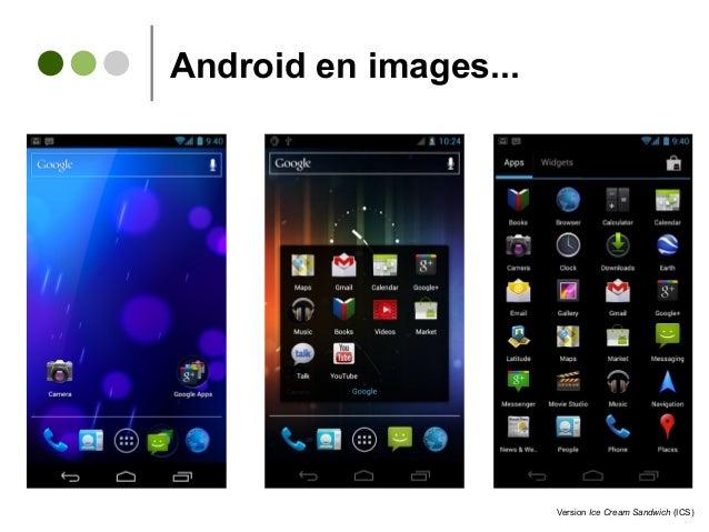 Android en images... Version Ice Cream Sandwich (ICS)
