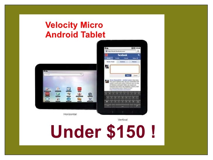 Velocity Micro Android Tablet Under $150 !