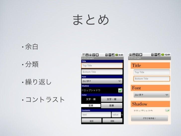 Android Layout 3分クッキング