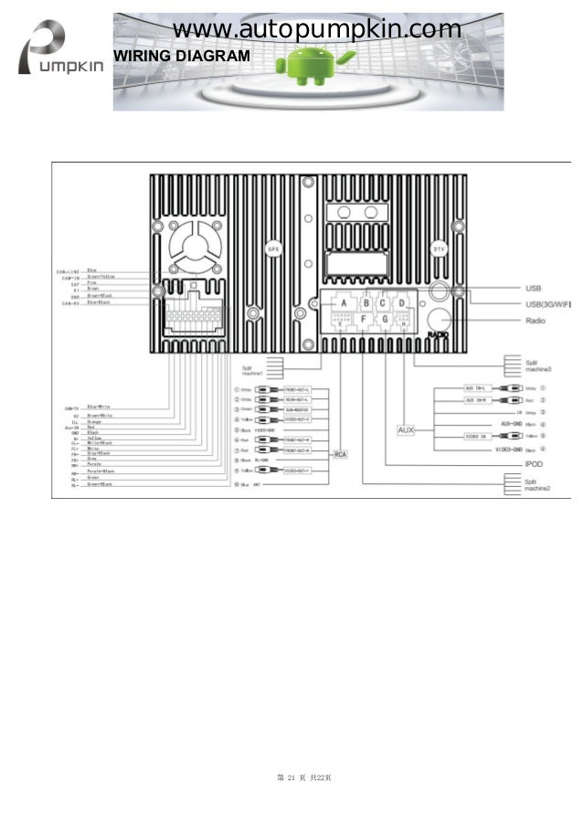 Car Stereo Tocado Wiring Diagram - Wiring Diagram