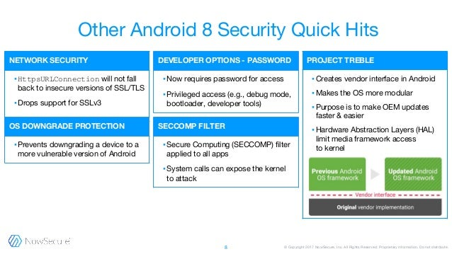 Android 8 Oreo and iOS 11 security updates: What you need to