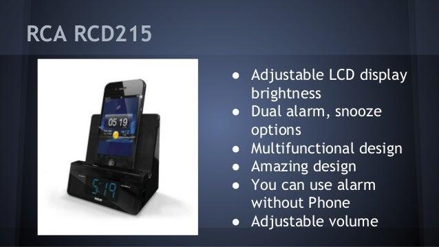 Android Alarm Clock Docks