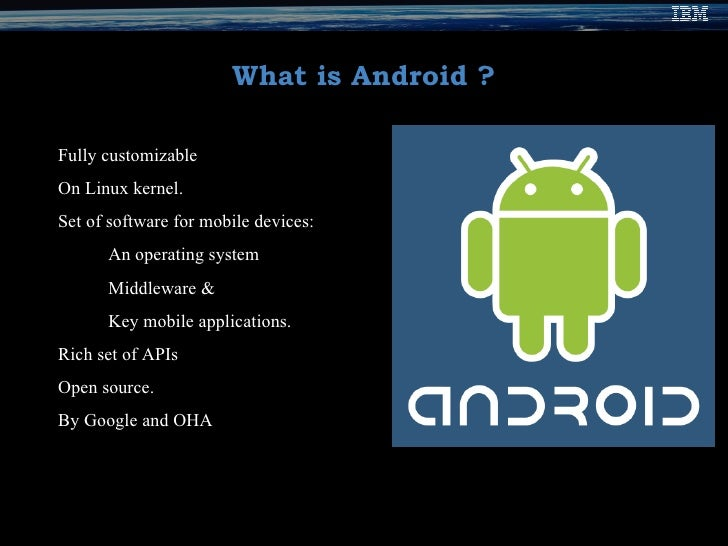 Anatomy of android